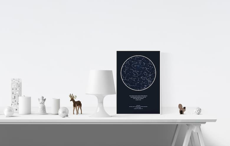 29.7 x 42.0cm Night Sky Print Frame