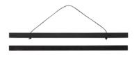 black poster hanger