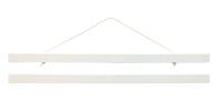 white poster hanger